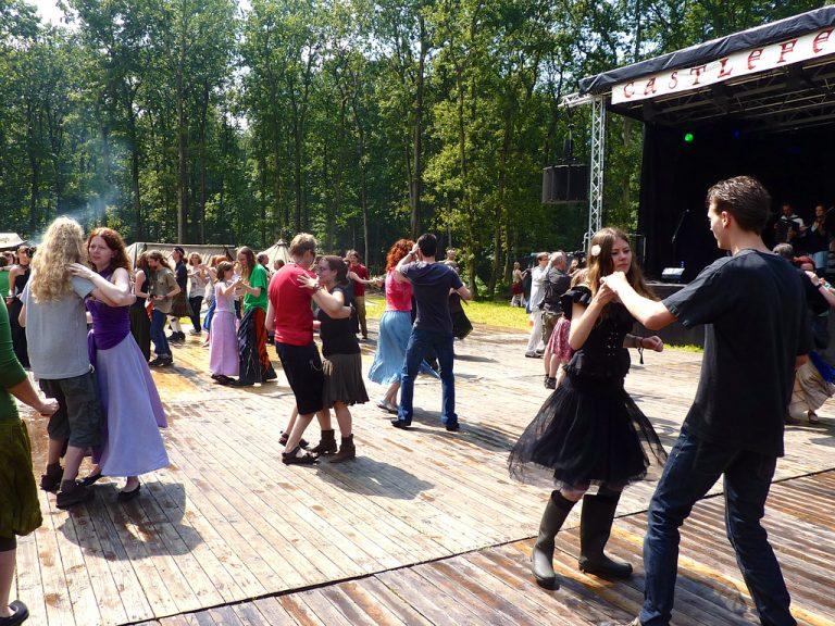 Een zeer leuke dansles in Amsterdam